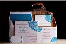 """Posh Wedding Stationery / Your invitation sets the tone for your event. This is a selection of the best papers, design, typography & colors...in my opinion! I love anything unique and """"not from a box."""""""