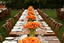 Posh Inspiration: Stop & Smell the Tulips / Nothing says spring like the sight of tulips in bloom. If you are planning a spring wedding or event here are some examples of how you can incorporate spring's most endearing flower.