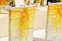 Posh Wedding Trends & Decor Ideas / Current wedding trends and decor ideas