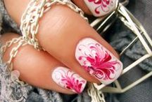 For the Girls / Love these nails, but they would never dry before I had to go back out to the barn.