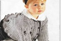 BABY cardigans1 / by Sandy Lougee