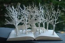 Craft Using Old Books / Upcycle old books into home decor, accessories, and organizers. / by CraftFoxes