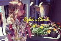 """Rylen's Closet / I have decided  to share my daughter's wardrobe, accessories, and shoes.  You will see an array of things, obviously I can't find everything I buy, but it's a small window into """"Rylen's Closet"""".  *Item's posted here may not be posted from origin of my purchases.  Thanks and Enjoy! The key to shopping is never pay full price search for what you want, because there is always a deal!  Please find our closet page on Facebook """"Rylen Grace"""", where I sell clothes we no longer can fit. :)  / by Anjelina Escalante-Denker"""