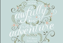 Prints [fonts & paper] / by Holly Benton