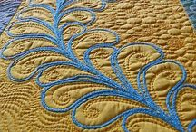 Quilting free motion patterns