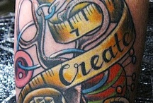 Crafty Tattoos / Post your own crafty ink or the crafting tattoos you have found. Please stick to crafty themed tattoos only. Keep the pictures tasteful as well. If you would like to be invited to post to this board leave a comment or send an email to jessica@craftfoxes.com. Thanks and happy pinning! / by CraftFoxes