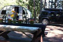 Glamping kinda camping / by Shauna Lar