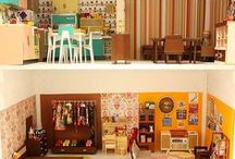 Dollhouses, fishbowls, things like that... / by Caitie Grady