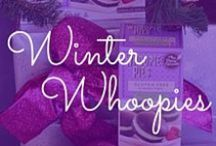 Winter Whoopies / Oh the weather outside is frightful, but the whoopie pies sure are delightful!