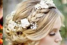 Hair Styles: Whimsical / Having a boho, country, DIY or vintage style wedding? This board collates together some beautifully relaxed, romantic, wistful, whimsical wedding hair up-do ideas. There will be plaits, flowers, loose, curls, floaty styles. Suitable for both Bridesmaid's hair and Bride's Hair