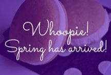 Whoopie! Spring has arrived! / by The Piping Gourmets