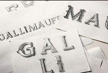 lettering / by Kristine Arellano • Presshaus LA