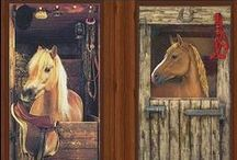 Pony Barn / Live in the barn! Decorate with an equestrian theme.