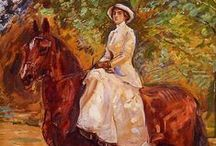 Sidesaddle / The picture of femininity with an inner strength and courage.