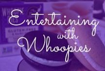Entertaining Tips / We love hosting parties and get togethers, and what makes a party? Whoopie pies! Get some of our favorite entertaining tips here.