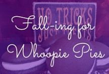 Fall-ing for Whoopie Pies / Chilly weather, falling leaves and whoopie pies make the perfect fall party! / by The Piping Gourmets