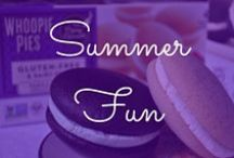 Summer Fun / Getting warm out? It's time to head outside with some gluten-free whoopie pies! / by The Piping Gourmets