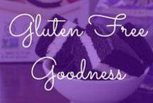 Gluten-Free Goodness / Living Gluten Free may seem hard, but it's not when you try some of our favorite gluten-free recipes!   XO - Leslie & Carolyn