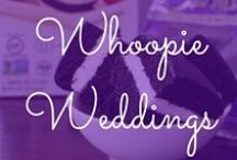 Whoopie Weddings / Skip the traditional wedding cake and use whoopie pies to celebrate your big day! We love these wedding ideas for party favors, dessert tables and more.