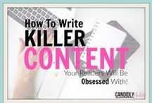 Writing Content / Tips and ideas on writing content that attracts customers and keeps them coming back for more. Ideas on how to write great articles for social media so that your business or organisation can make a greater impact online.
