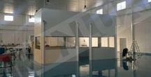 8 Panel Sándwich LISO / Panel Fachada tornillo visto LISO por ambas caras para un mjor acabado estético y sanitario