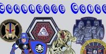 Blue Unicoin's Challenge Coins / Custom made challenge coins available for purchase. If you need custom coins made contact us : sales@blueunicoin.com. #blueunicoin