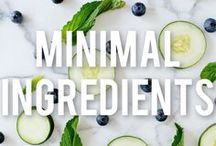 Minimal Ingredients