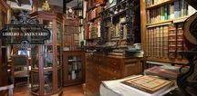 Tiendas, Anticuarios; Librerias....