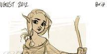 Sheiona / Elf slave girl from Dragon Age.