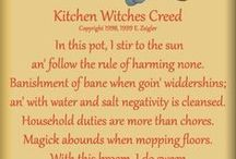 A Witch's Kitchen / Food & drinks & potions & lotions made in the kitchen / by Shell James