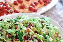 Salads / Find recipes that will help you make a salad perfect for summer. There are ideas for healthy salads but also included are heartier types like egg salad.