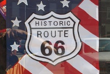 ROUTE 66  !!!!!!!!!!!!!!!!!!!!!!! / by Sandy Hemsher