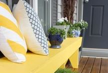 Porch Ideas / Things I like for the new porch, screened and unscreened / by Maria Brebner