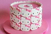 3. Hello Kitty cake