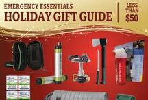 Gifts Under $50 / Trying to find the perfect Christmas or Hanukkah gift for a loved one or close friend who is preparedness-minded or an outdoor enthusiast? Any of these gifts will be just the thing--and for less than $50!