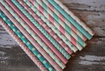 Baby Shower Ideas, Baby blue and pink / by Spiral Sage