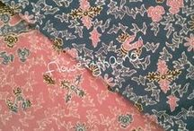 Flowery Hana Batik / Here are the collections of my online store. I only sell cute stuff with affordable price. :)
