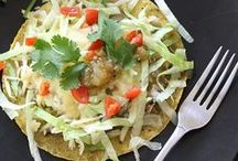 Skinnytaste- Mexican Food / Tasty and healthy Mexican Food recipes (includes nutritional values and WW point values)