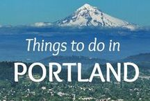 Portland (Oregon) / Travel ideas for Portland, Oregon- what to do, what to see, where to eat, and where to stay.