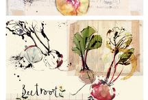 Watercolors ... mon amour