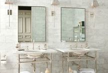 Blissful Bathrooms / by Alice Catalano