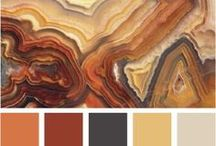 Color Inspiration - Warm / Warm Palettes for Art, Design, and Inspiration