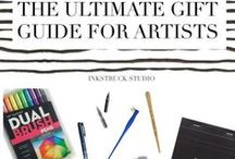 Arty Gifts / Gift Ideas for Artists and Art Lovers