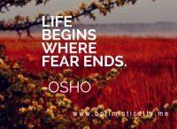 Goodbye fear