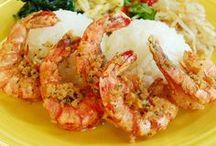 Yummy Garlic Shrimp / ヤミーガーリックシュリンプを使った料理例