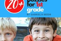 Logic Puzzles for First Grade