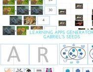 Learning Apps for Kids / Learning Apps for kids in kindergarten, preschool, grade 1, grade 2 and grade 3