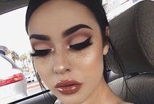 makeup & hairs
