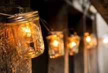 Mason Jars / I. L O V E. MASON JARS! / by Micaela Hotham