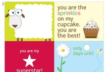 Free Printables / Organize with our creative and fun free printables